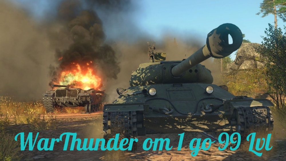WarThunder от 1 до 99 уровня + подарок