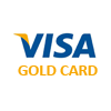 $ 1 GOLD CARD VISA VIRTUAL (RUS). Warranty service.
