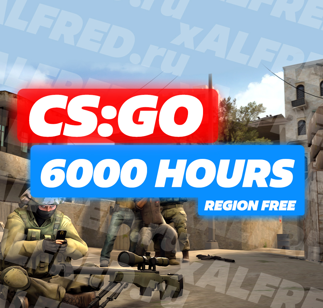 CS:GO - 6000 HOURS! ✔️Added Game - Dirt Rally!❤️CSGO