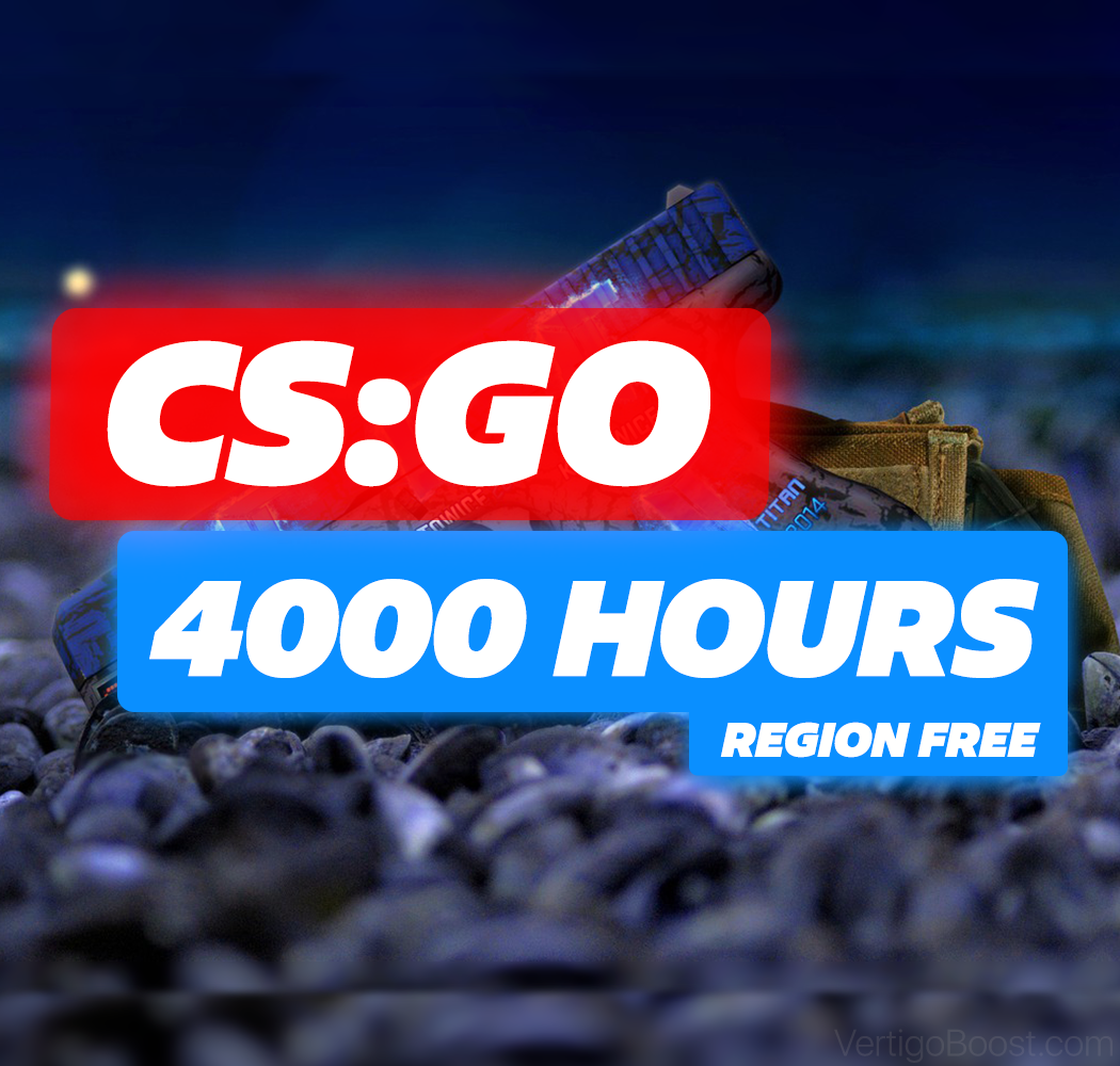 CS:GO ✔️4400 HOURS 💡 +40 Games on Account!❤️ Personal!
