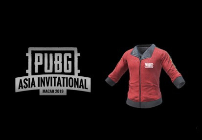 PGL PUBG ASIA PAI 2019 jacket 2019