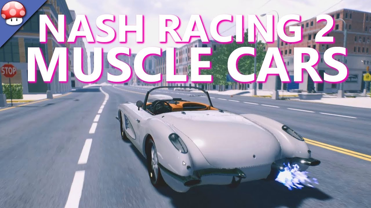 Nash Racing 2: Muscle cars (Steam key, Region free)