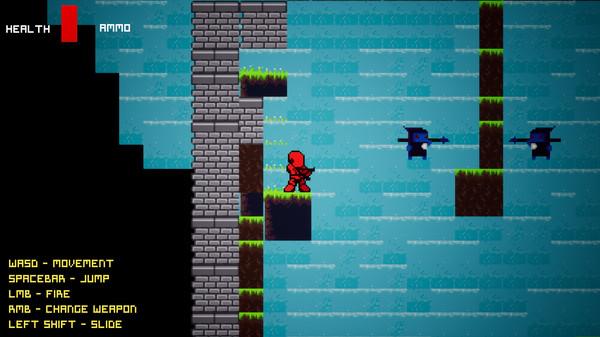 Pixel Robot Hunter (Steam key. Region free) 2019