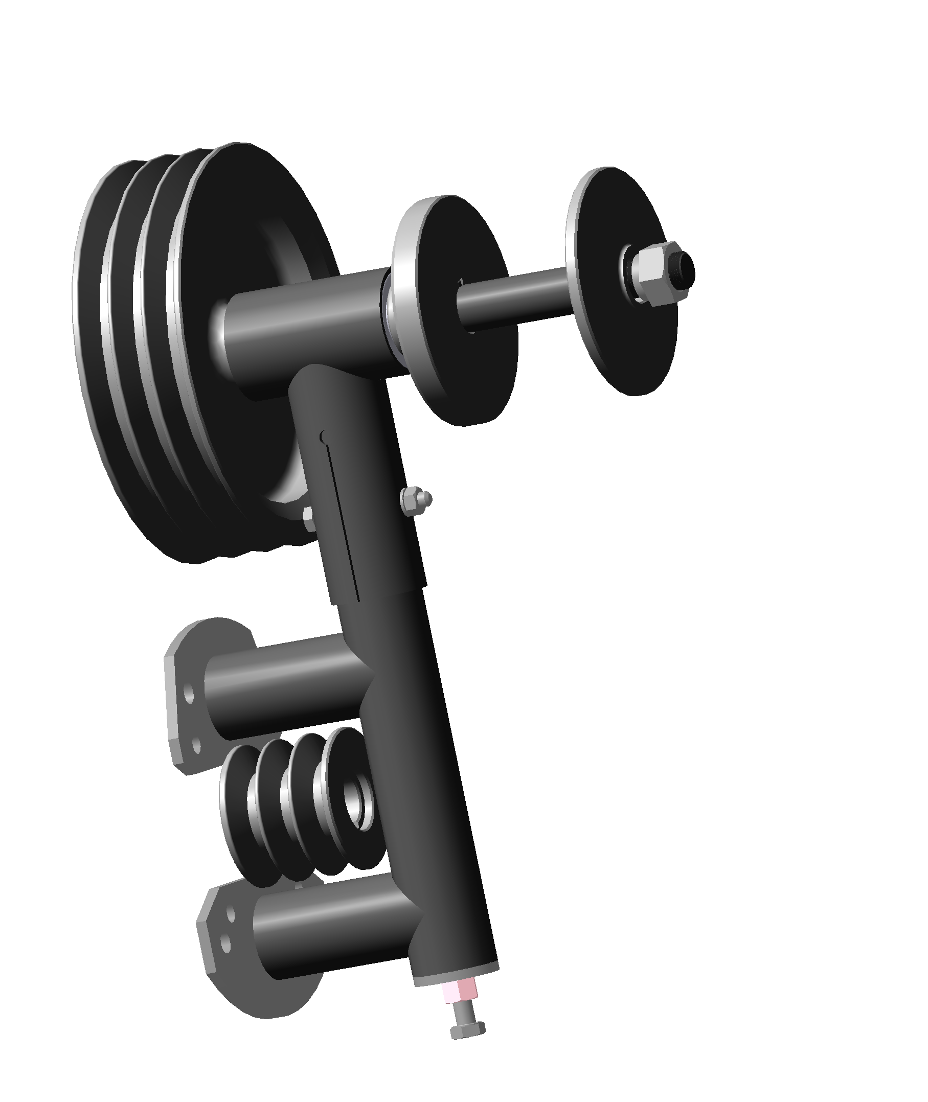 Drawings gearbox aero machine Lifan190 - Lifan192 2019