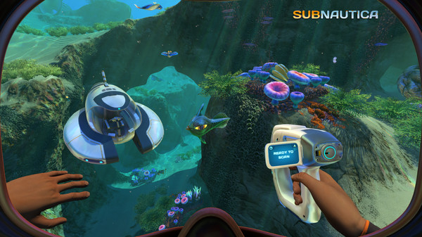 Subnautica (Steam RU+UA+CIS)