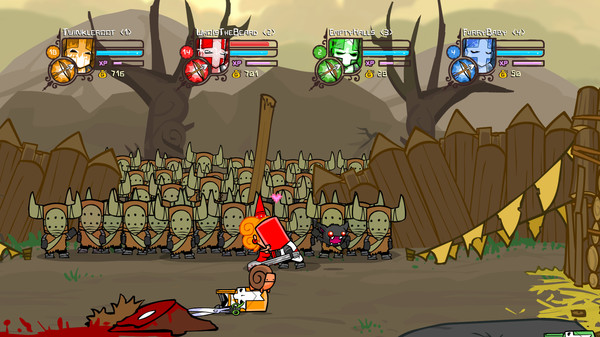 Игра Castle Crashers on Steam (RU+UA+СНГ)