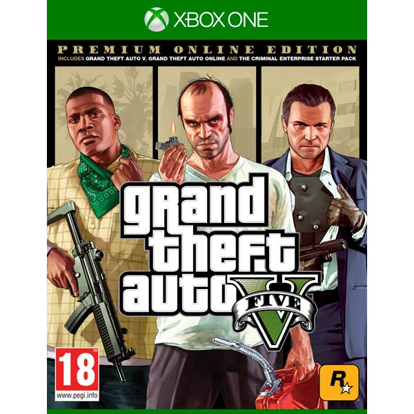 Grand Theft Auto V:Premium Online XBOX ONE, GTA V