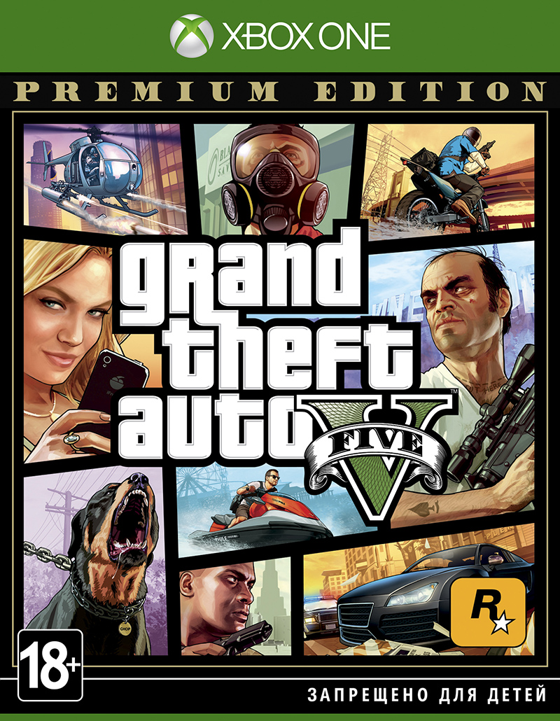 Grand Theft Auto V:Premium Edition XBOX ONE, GTA V🔑👍