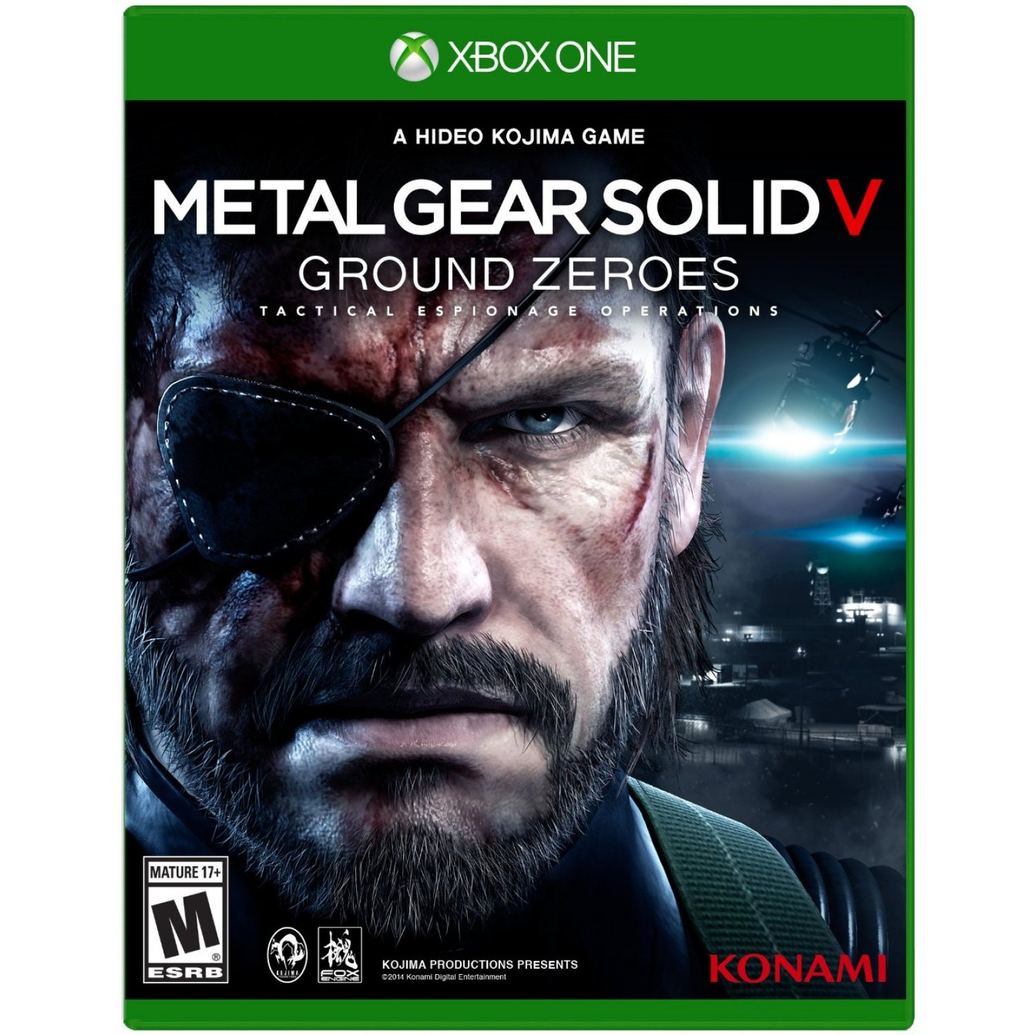 Metal gear solid V:GROUND ZEROES +Titanfall XBOX ONE
