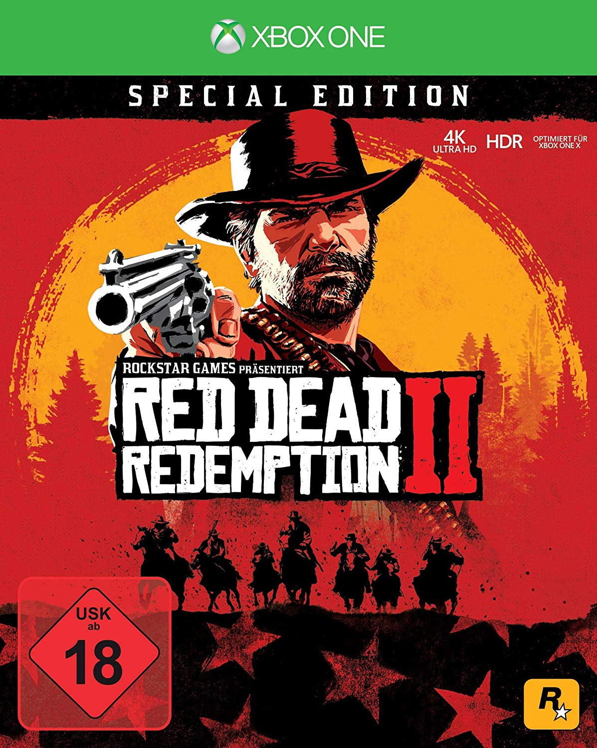 Red Dead Redemption 2: Special Edition XBOX ONE ключ