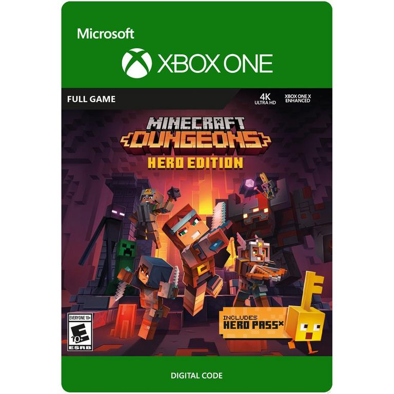 Minecraft Dungeons Hero Edition XBOX ONE key 🔑🥇✔️💪💥