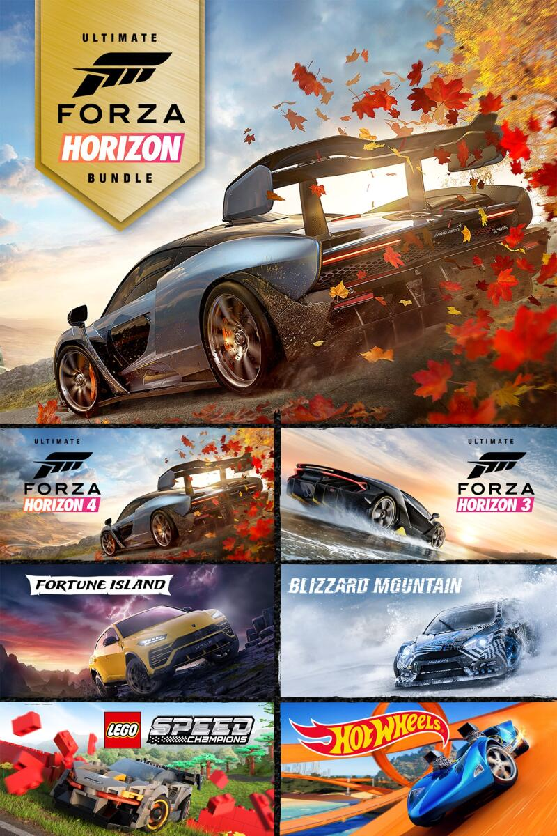 Forza Horizon 4 + 3 Ultimate ключ XBOX ONE|WIN10 🔑