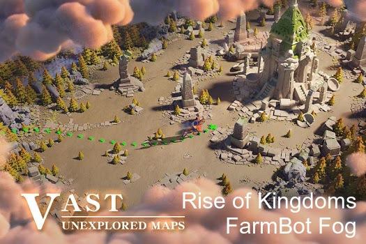 Farm Bot Fog Rise of kingdoms (ROC) / Discovery of Fog