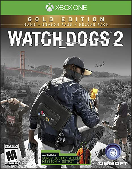 Watch Dogs 2 Gold Edition XBOX ONE ключ🔑