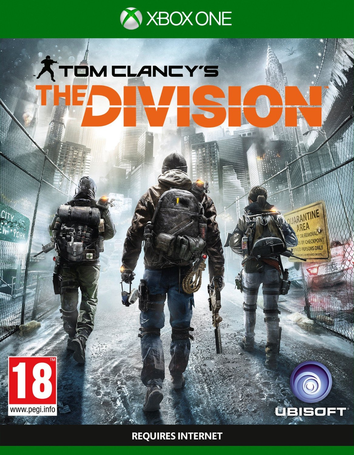 Tom Clancy's The Division Xbox One ключ🔑