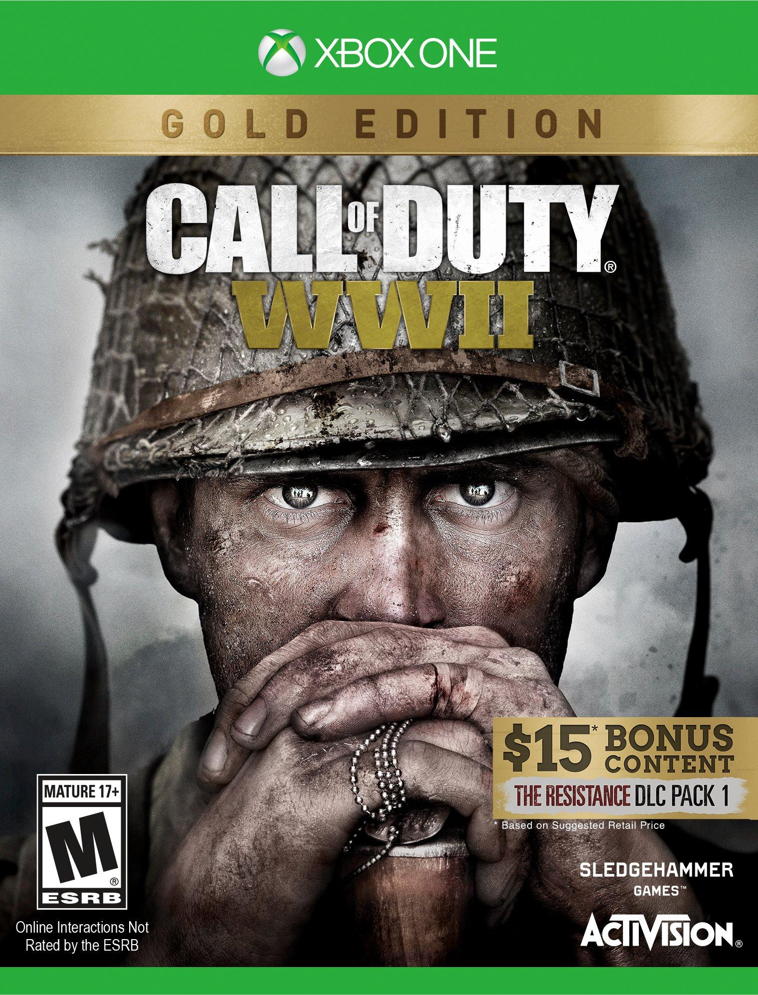 Call of Duty®: WWII - Gold Edition Xbox One  code🔑