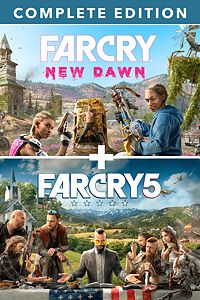 Far Cry® 5 + Far Cry®New Dawn Deluxe Xbox One code🔑