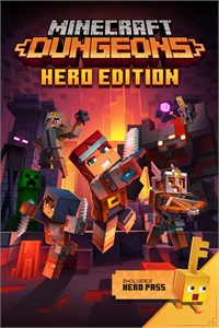 Minecraft Dungeons Hero Edition Xbox One code🔑