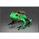Unusual Skip the Delivery Frog DOTA 2