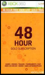 XBOX LIVE - 48 hours Gameplay US Gold