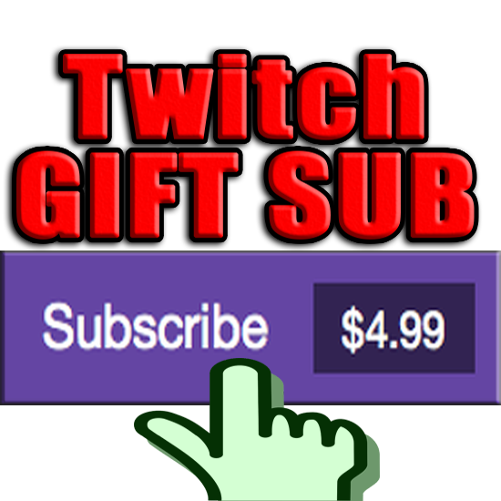TWITCH Sub GIFT Subscriptions ✅ Paypal ✅