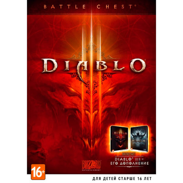 Blizzard Diablo 3 for PC (in English)