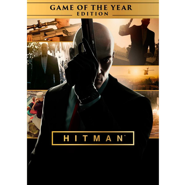Hitman Game of the Year Edition for PC (released in 201