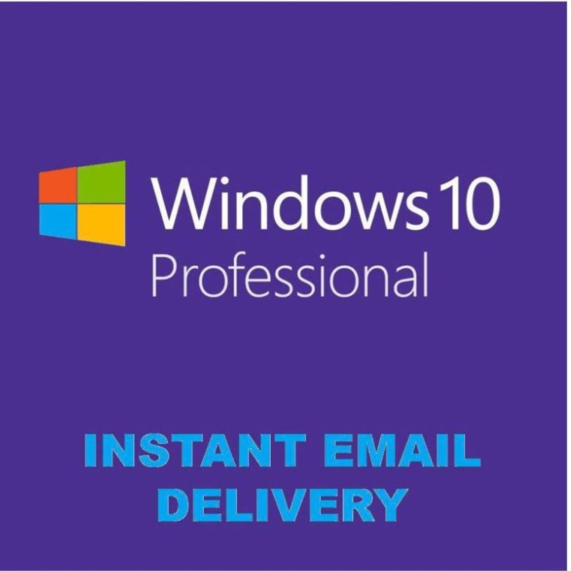 Windows 10 Pro 32/64 bit Retail Warranty+Gift+Discount