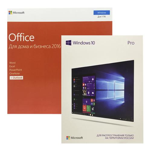 WINDOWS 10 Pro + MICROSOFT OFFICE 2016 Pro Plus Акция!