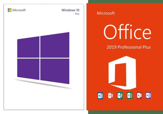 Windows 10 Pro Retail + Office 2019 Pro Plus!