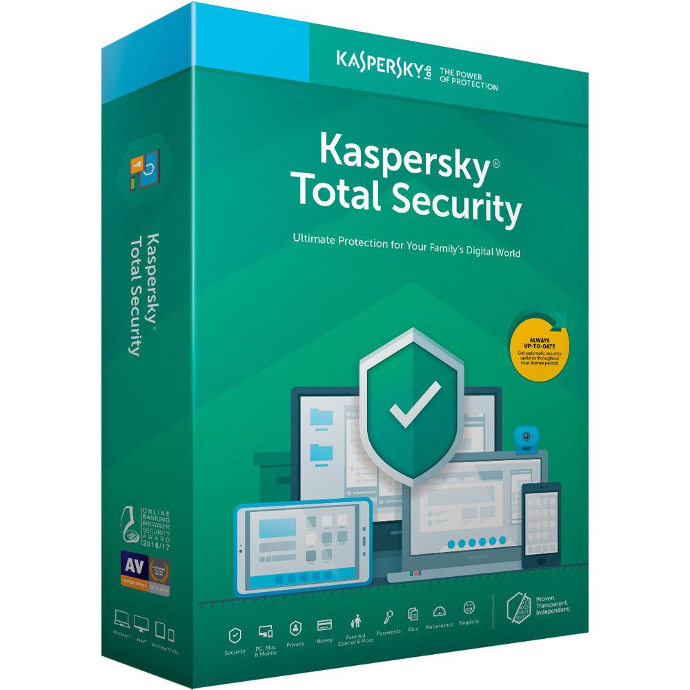 KASPERSKY TOTAL SECURITY |3ПК/1ГОД| GLOBAL!
