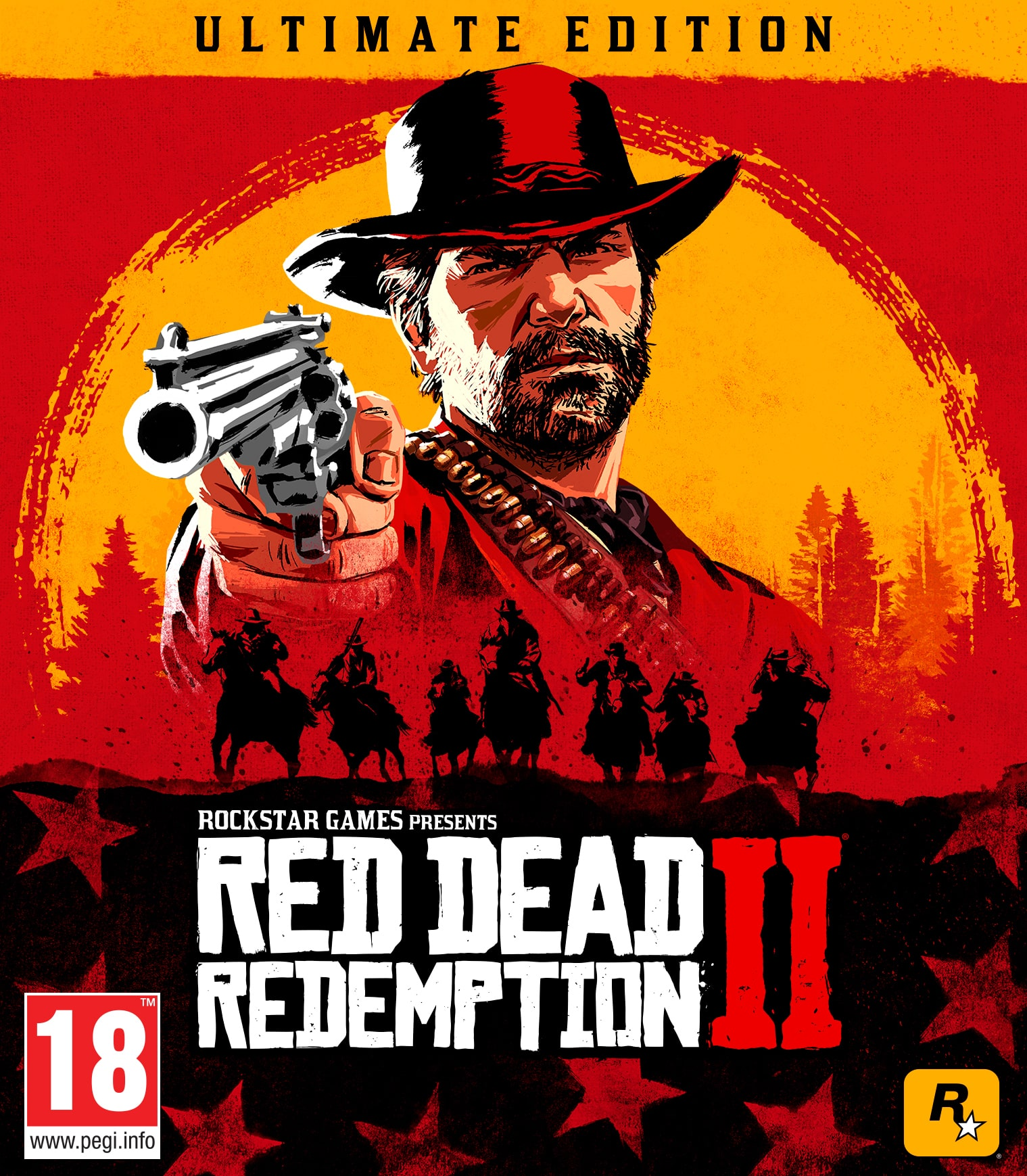 RED DEAD REDEMPTION 2 STEAM OFFLINE ULTIMATE - WARRANTY