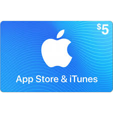 ⭐️🎁iTUNES GIFT CARD - $5 (USA)  | DISCOUNTS🎁⭐️