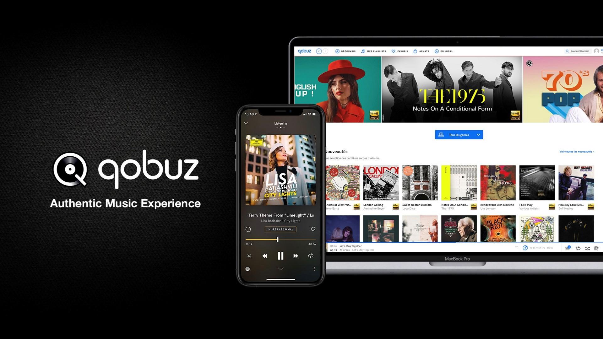 Фотография qobuz  premium 30 дней+ автопродление подписки