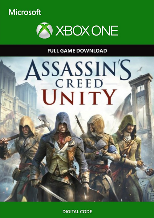 Assasins creed unity Xbox one digital key