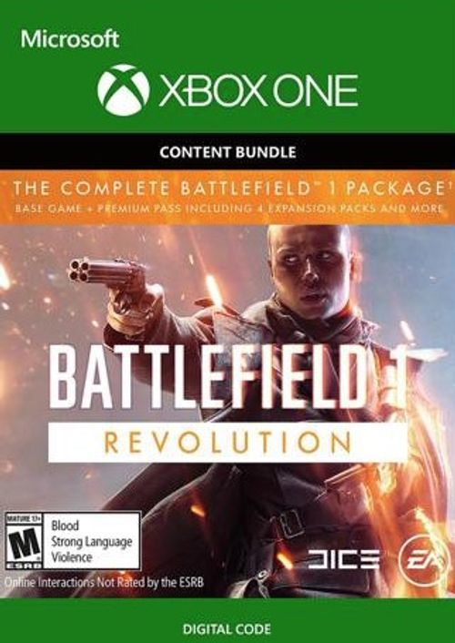Battlefield 1 Xbox One Revolution