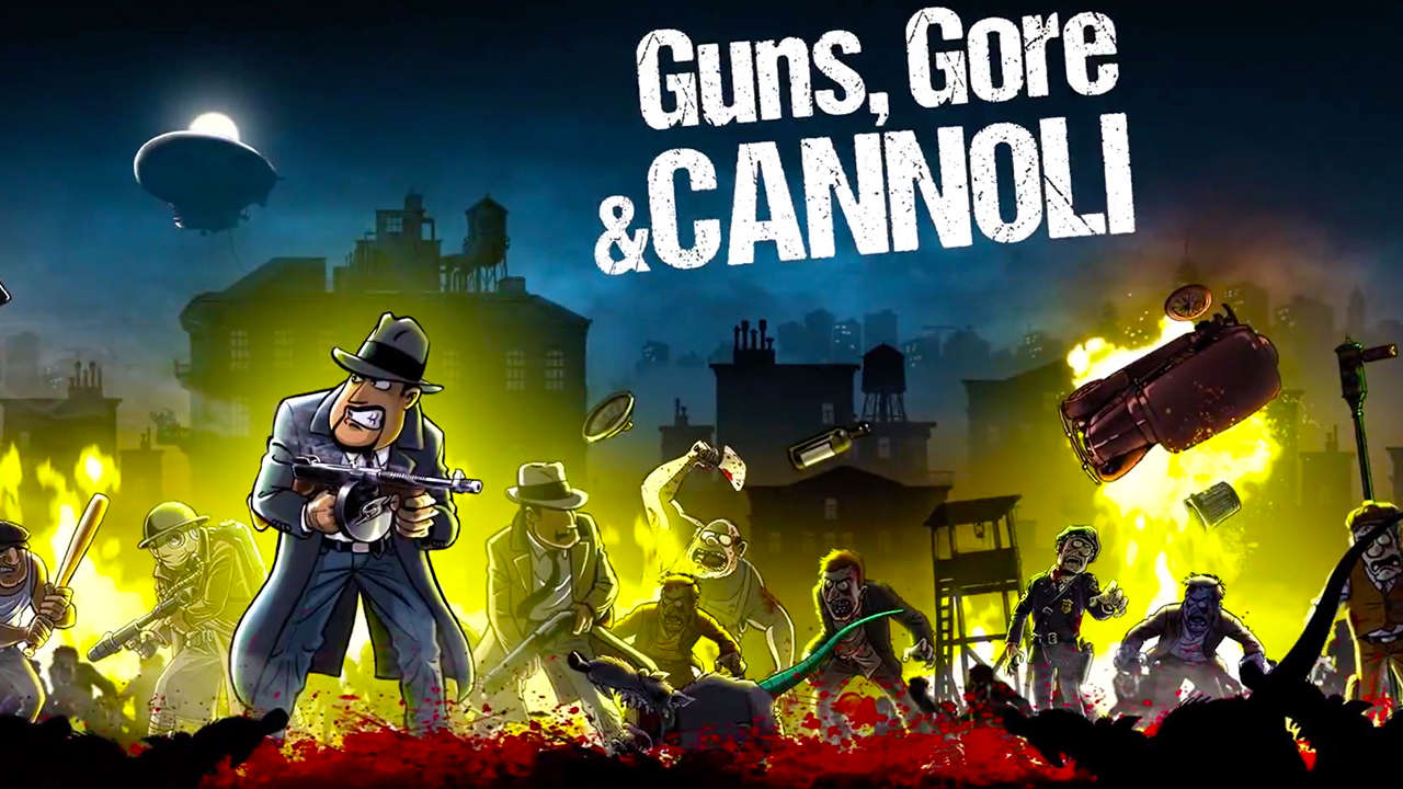 Guns, Gore and Cannoli 1 +2 xbox one