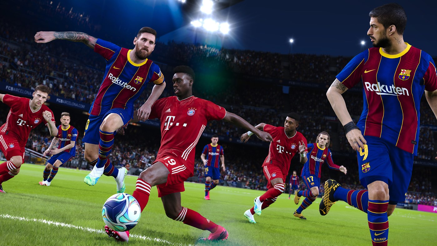eFootball PES 2021 FC BARCELONA + PES 2020 Xbox one