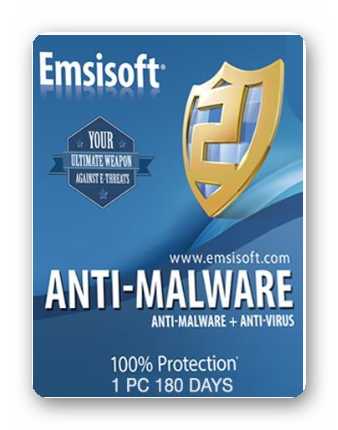Emsisoft Anti-Malware Home 1 PC 180 дней ключ GLOBAL
