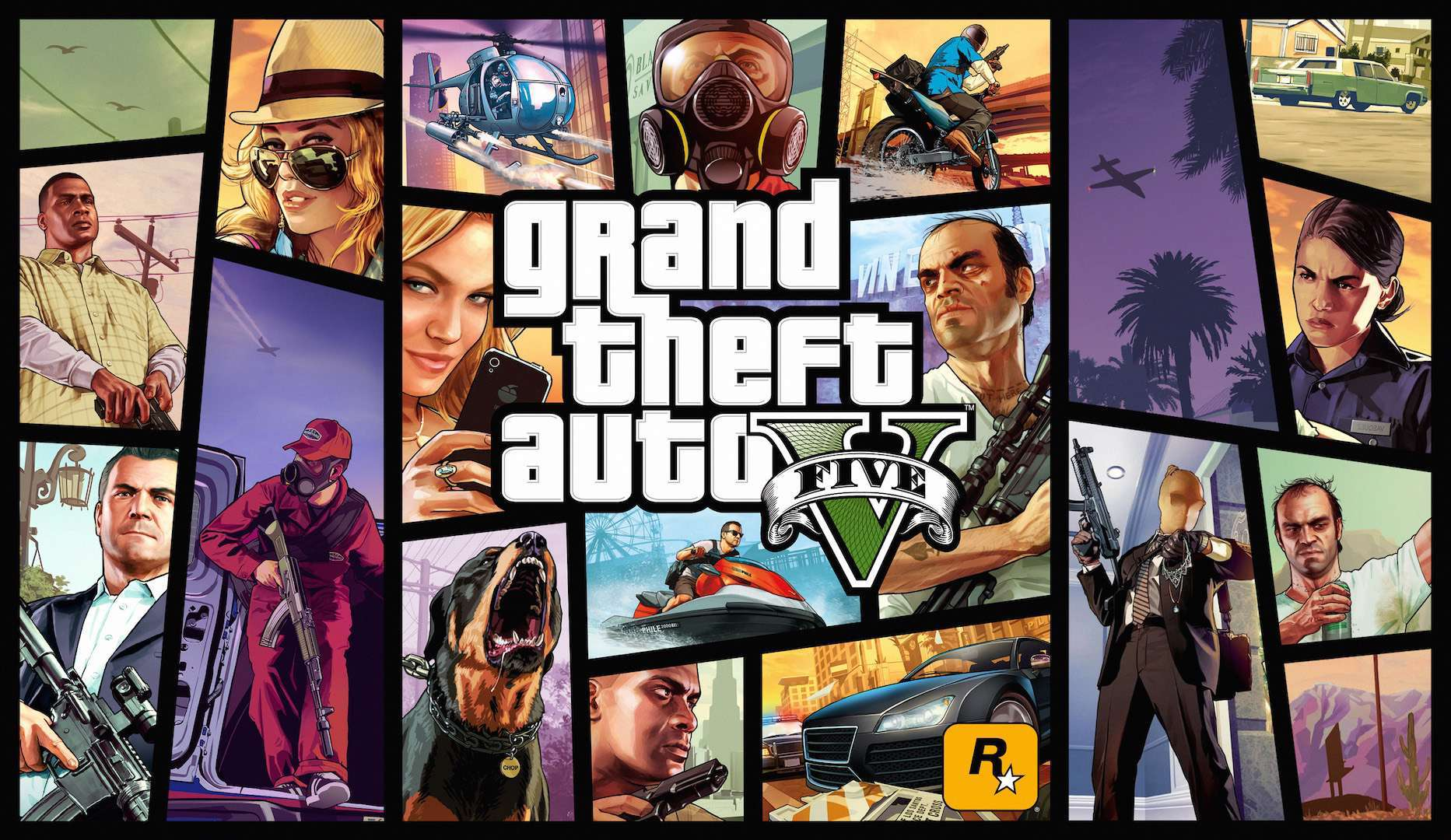 Grand Theft Auto V / GTA 5 (PC) [With MAIL/FULL ACCESS]