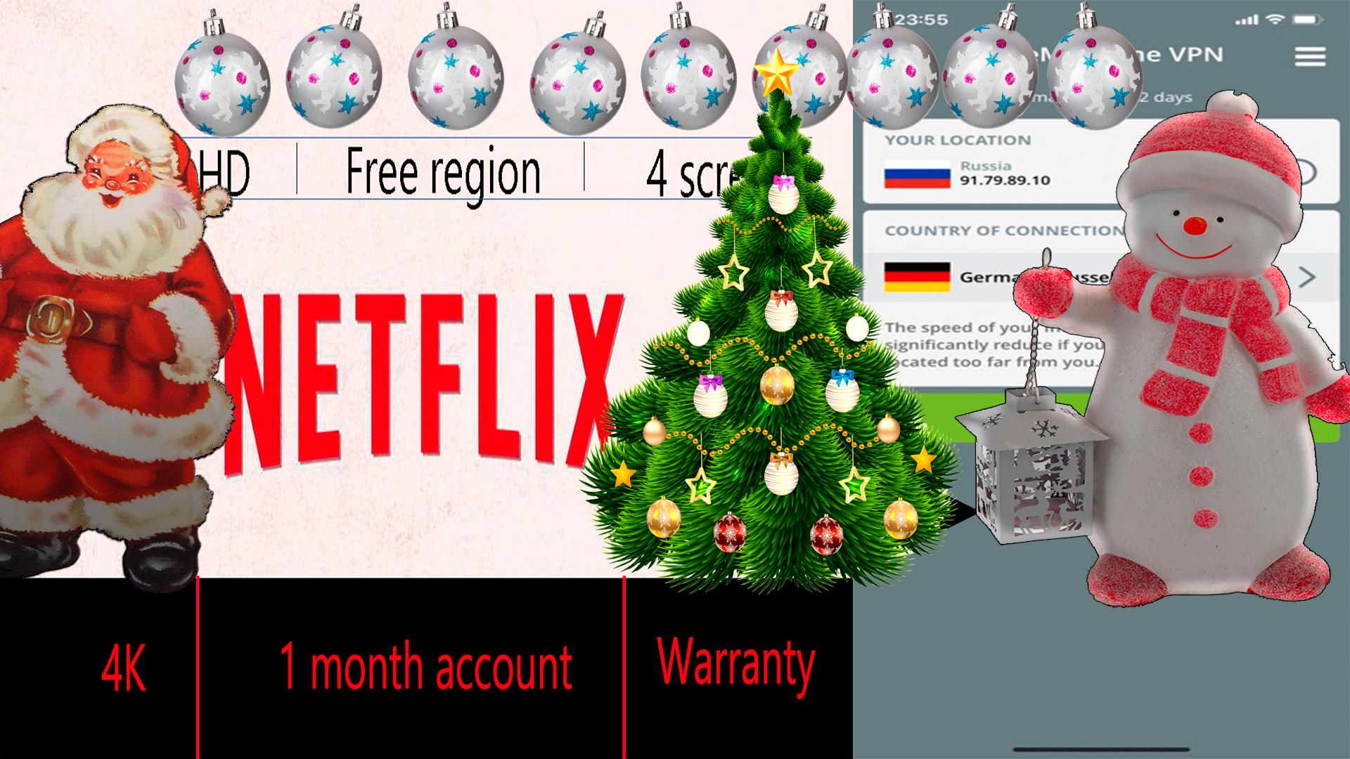 Netflix Premium акк ULTRA HD | ГАРАНТИЯ