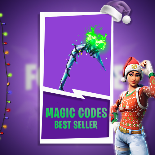 🔥 FORTNITE 🔥 ⭐MERRY MINT AXE⭐ (MINTY) + GIFT