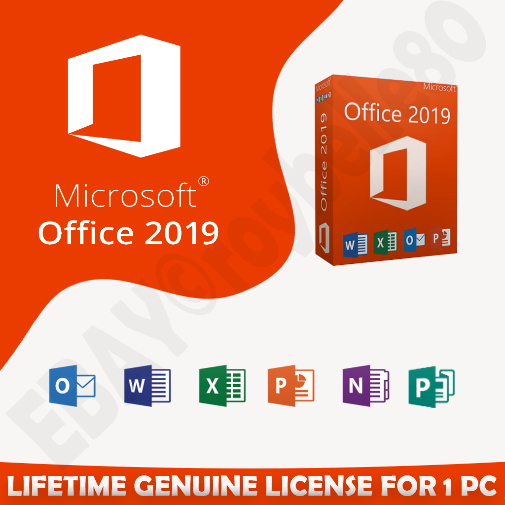 MICROSOFT OFFICE FOR HOME AND LEARNING 2019 UNLIMITED