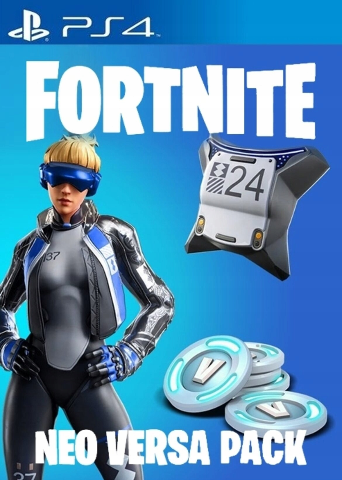 🔥 FORTNITE 🔥 ⭐ NEO VERSA BUNDLE ⭐ 500 V-BUCKS PS4 EU