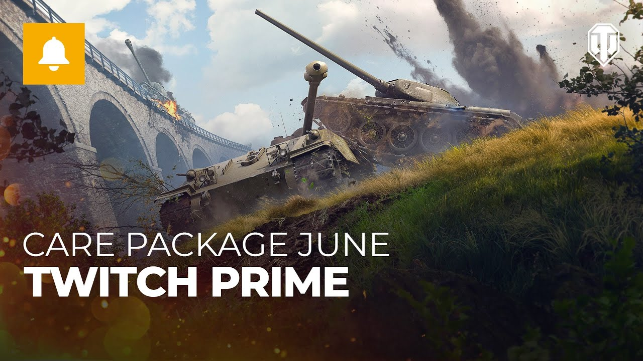 Twitch Prime World of Tanks July | June | Apex