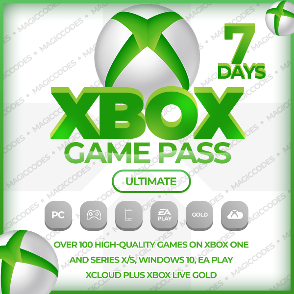 XBOX GAME PASS ULTIMATE 7 DAYS EA PLAY + RENEWAL