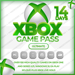 XBOX GAME PASS ULTIMATE 14 + XBOX LIVE GOLD + EA PLAY