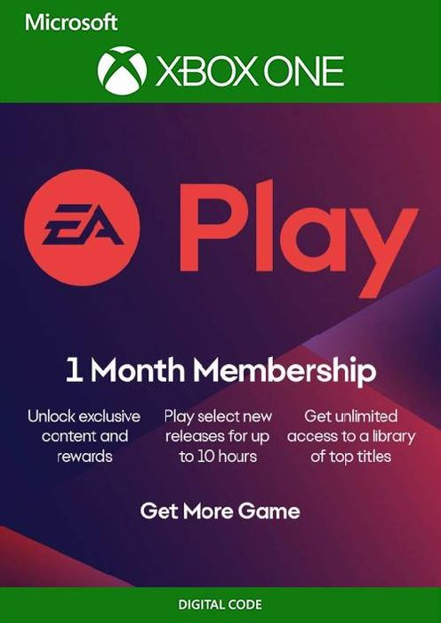 EA Access Xbox EA Play - 1 Month Membership any account