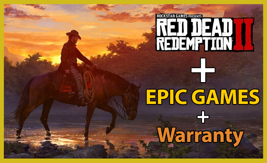 🎯[Epicgames] Red Dead Redemption 2 | Warranty | PAYPAL