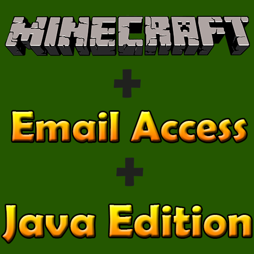 ⚔️MINECRAFT⭐PAYPAL • MAIL ACCESS • JAVA EDITION
